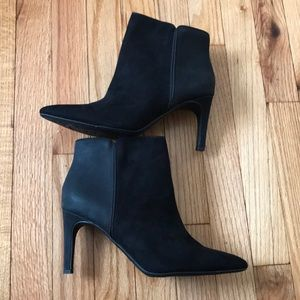 Avalon Circus Booties Ankle Point Toe Heels Pumps